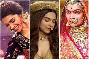 How does Padmavati's Ghoomar stack up against other Deepika Padukone-Sanjay Leela Bhansali songs?