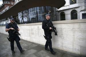 Scotland Yard's new counter-terror strategy: Use private guards