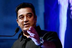 """Actor Kamal Haasan has already said """"saffron is not his colour"""", ruling out possibility of him joining hands with the BJP."""