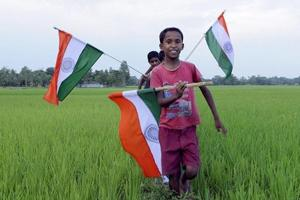 File picture of children for the former Bangladesh enclaves just before the areas merged into India in 2015. These children had no way of getting admission in schools in this country without submitting fake documents.