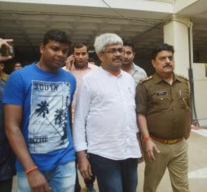 Journalist Vinod Verma was arrested by the Chhattisgarh Police in October for suspected blackmail and extortion related to a 'sex CD'.