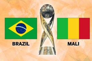 Brazil defeated Mali in the 2017 FIFA U-17 World Cup third-place playoff at Kolkata's Salt Lake Stadium on Saturday. Get full football score and live updates of Brazil vs Mali here.