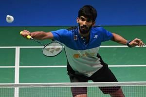 Kidambi Srikanth overcame a tough challenge from China's Shi Yugi to enter the semi-final of the French Open badminton tournament.