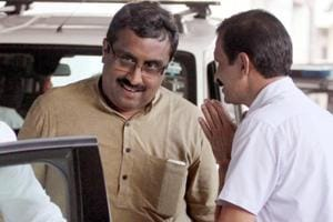 BJP general secretary Ram Madhav blamed former Congress governments for the crisis in Kashmir.
