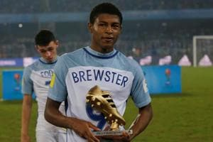 Rhian Brewster was the top scorer at the FIFA U-17 World Cup with eight goals.