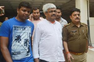 Journalist Vinod Verma was arrested and produced before a Ghaziabad court on Friday.