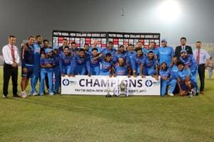India beat New Zealand by six runs in Kanpur to win the three-ODI series 2-1. Get highlights of India vs New Zealand, 3rd ODI here