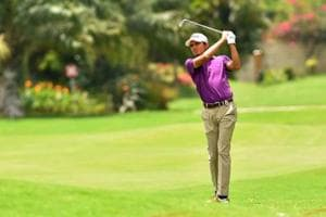Ajeetesh Sandhu will look to continue his good run of form in the $400,000 Panasonic Open at the Delhi Golf Club.