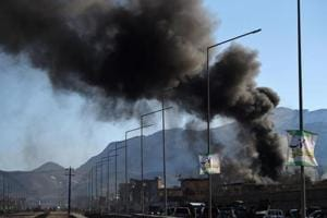 At least 13 killed as blast rocks Kabul's diplomatic zone