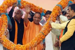 Congress govt in HP is neck deep in corruption: Yogi Adityanath