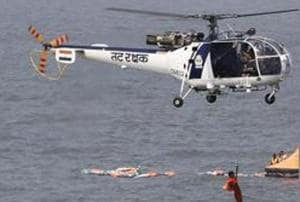 The 111 naval utility helicopters will replace the Navy's outdated fleet of French-designed Chetak choppers (in pic).