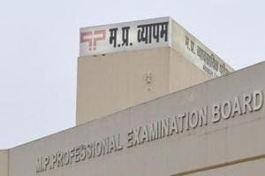 The Madhya Pradesh Professional examination board (Vyapam) building in Bhopal.