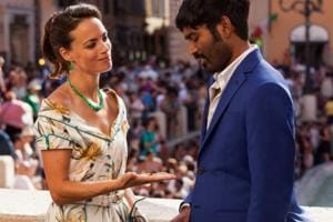 The Extraordinary Journey of the Fakir first look: Dhanush looks...
