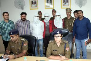 The four men were involved in seven cases of robbery in Greater Noida, the police said.