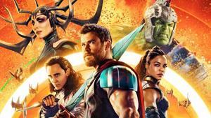 Chris Hemsworth plays Thor, alongside Cate Blanchett, Mark Ruffalo , Tom Hiddleston and Idris Elba, among others.