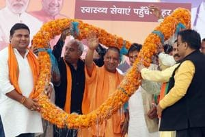 The BJP's civic pollcampaign in Uttar Prades will be led from the front by chief minister Yogi Adityanath.