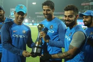 Ashish Nehra is playing his last ever game for the Indian cricket team, in the 1st T20I against New Zealand at the Feroz Shah Kotla.