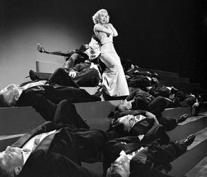Marilyn Monroe (1926 - 1962) performing