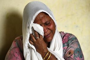 Attar Kaur, lost her husband along with other relatives during 1984 Sikh riots in New Delhi, on October 29.