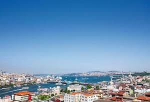Istanbul is the only major city in the world that straddles two continents, Asia and Europe