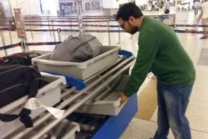 The two-level baggage roller will automatically segregate the suspicious baggage and the roller will not stop thereby allowing the Central Industrial Security Force (CISF) to clear more passengers.