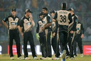 New Zealand lost the first T20 to India in New Delhi on Wednesday.