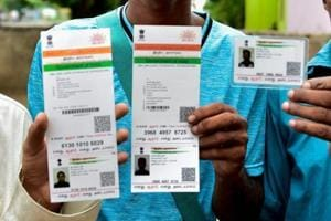 A group of Muslim men, suspected to be from Bangladesh, have produced Aadhaar cards to claim to be Indians.