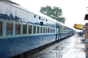 The judge registered a complaint in the railway grievance register at the Berhampur station complaining of a dead rodent in the coach.