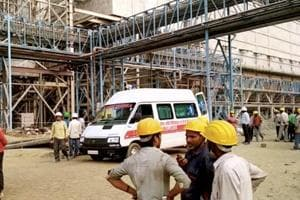 The explosion at NTPC