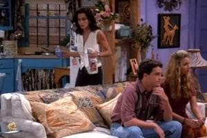 In the TV show Friends, Monica Geller's obsessive cleaning and organising, signs of OCD,  often make her the butt of jokes.
