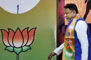 Former Trinamool Congress leader Mukul Roy joined BJPon Friday.