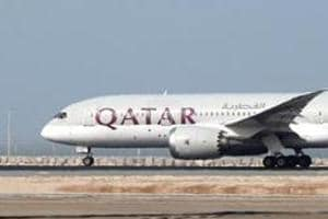 The Qatar Airways plane was flying from Doha to Bali when the pilot was forced to land in Chennai because of an unruly woman passenger.