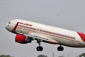 An Air India aircraft takes off at the Sardar Vallabhbhai Patel International Airport in Ahmedabad, India, July 7, 2017.