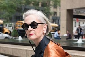 Age no bar: Says this 64-year-old fashion  blogger, Lyn Slater