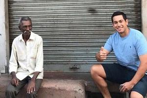 Ross Taylor has responded in grand style to Virender Sehwag's 'darji' (Tailor) comment but the former Indian cricket team dasher has come up with a unique request involving an Aadhaar card.
