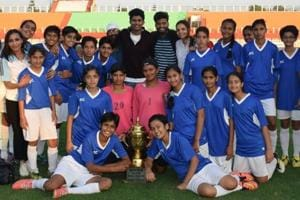 Chandigarh defeated Manipur to win the sub-junior football title.