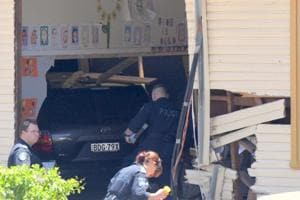Two kids killed, several injured after car crashes into classroom in...