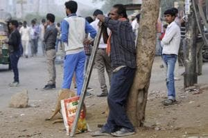 The buzz seems to be back in Noida, as a large number of labourers have returned to the city. They say the demand has risen even more than pre-demonetisation days.