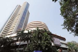 Sensex hits new record of 33,853.63; Nifty rises 34 pts