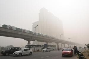The air quality index (AQI) value for Gurgaon on Tuesday was 368, according to the Central Pollution Control Board.
