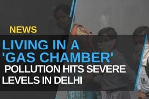 Living In A 'Gas Chamber': Pollution Hits Severe Levels In Delhi