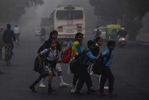 """The Indian Medical Association said the capital was witnessing a """"public health emergency"""" and has appealed to the government to stop outdoor sports and other such activities in schools to protect the health of children."""