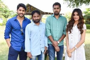Naga Chaitanya begins shooting for Savyasachi with Nidhi Agerwal
