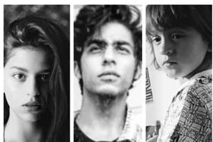 Aryan, Suhana and AbRam: Shah Rukh Khan shares a picture of his three...