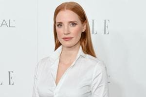 Jessica Chastain attends ELLE