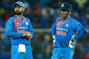 Virat Kohli protects MS Dhoni after victory, asks 'why are you...