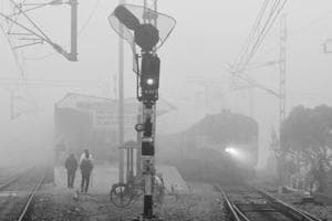 Photos: North India's first fog of the season; visibility low