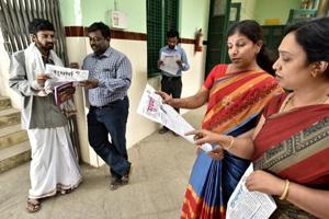 In the corridors of Karnataka Samskrit University, Bengaluru, the Sudharma, a Sanskrit daily, is a common sight.