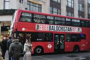 After taxis, 'Free Balochistan' ads appear on London buses