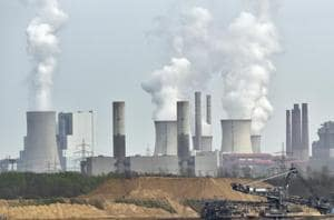 World carbon emissions set to rise 2% to record high of 37 billion...